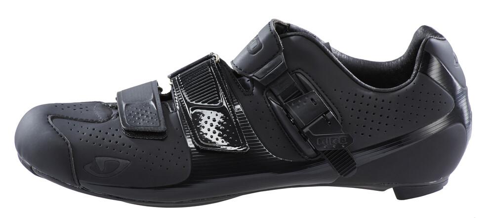 Chaussures Noires Giro Factor Avec Velcro Pour Les Hommes x1ngTacHPN